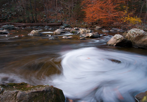 Whirlpool of Foam - Raritan River at Ken Lockwood Gorge,  Califon, NJ by SnarkPhoto