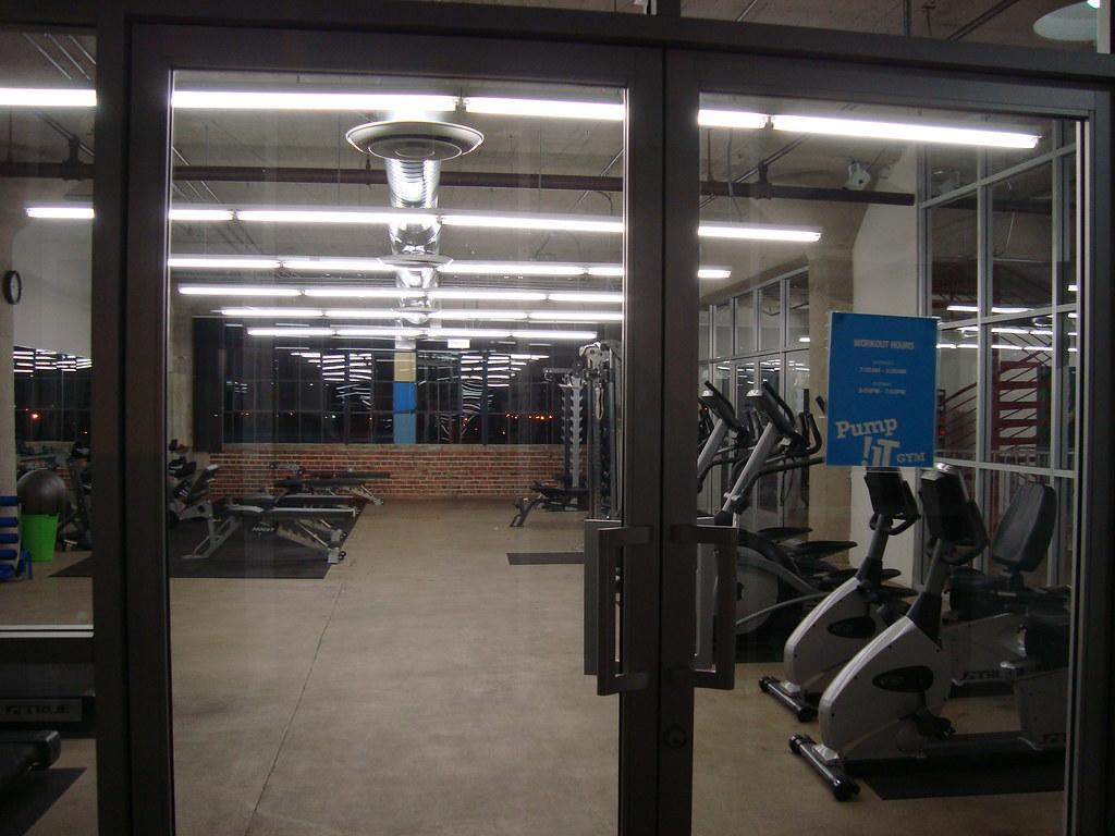 "Company ""campus"" gym"