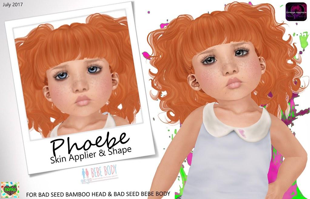 **DoRks** Phoebe Skin & Shape Package - SecondLifeHub.com