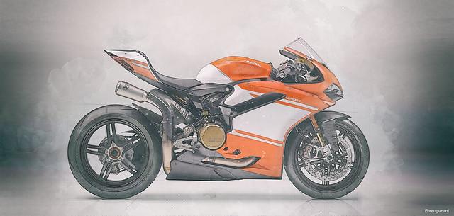 Ducati sketch