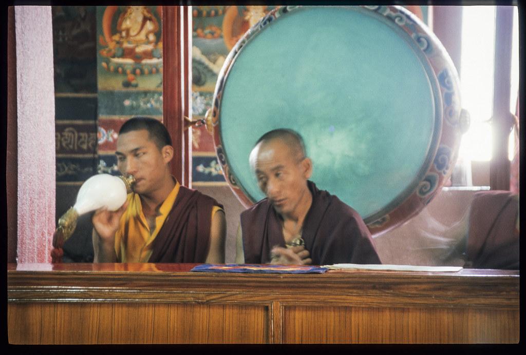 Bodnath temple, sous les yeux du bouddha - Conques et psalmodies
