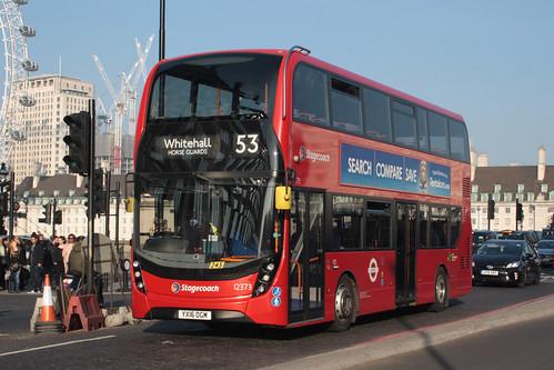 Stagecoach London 12373 YX16OGM