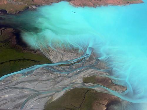 Lake Tekapo - Aerial Flight Scenic Safaris