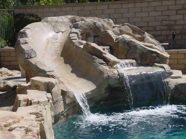 Custom Pool Water Slides Joy Studio Design Gallery