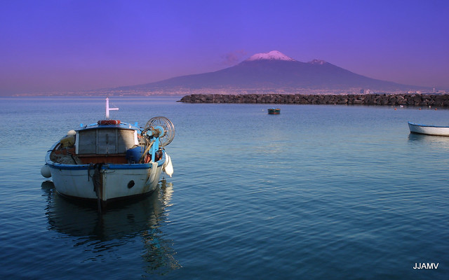 Bay of Naples and Vesuvio/Vesuvius