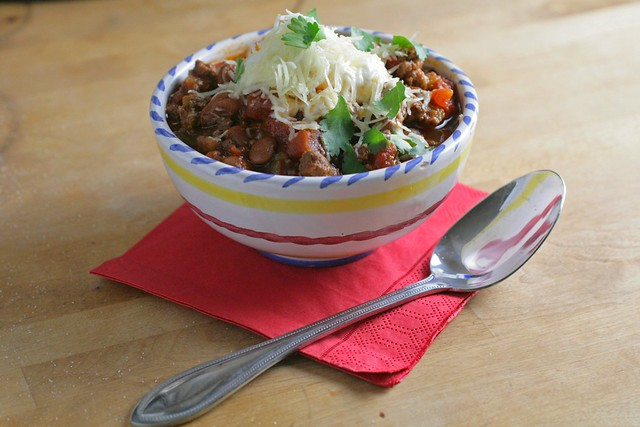 Easy Slow Cooker Chili | The Domestic Front