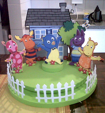 Chupetera Backyardigans | Flickr - Photo Sharing!