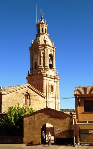 Iglesia de San Andrés, Villamayor de Monjardín by Rufino Lasaosa
