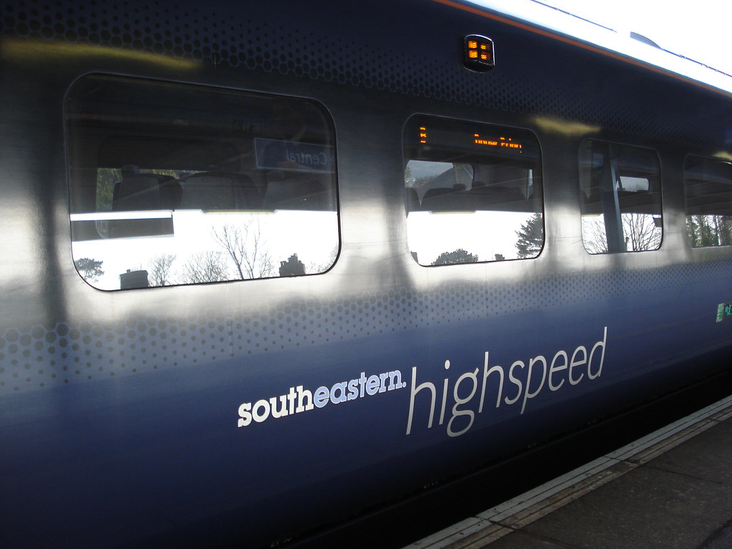 High speed train Extra walk 13: Folkestone circular