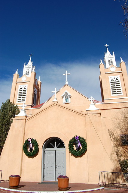 Church in Old Town, Albuquerque