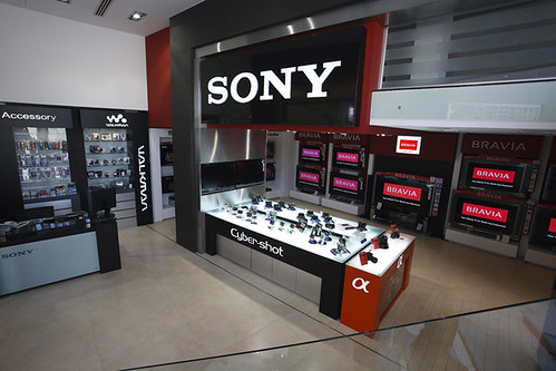 Sony Showroom - Syria Designed By FIRST HALF DESIGN