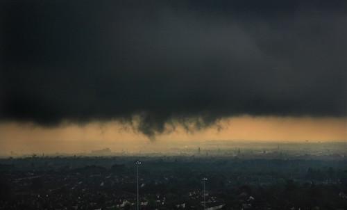 Louring storm, Dublin Mts.
