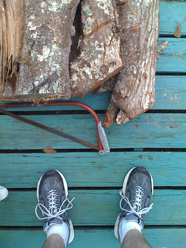 cameraphone camera wood eye feet apple shoe saw log shoes phone looking view floor legs perspective logs ground down surface sneakers deck 3g fl firewood phones iview hacksaw iphone fromaphoneseyeview