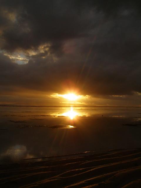 日出,沙奴海滩