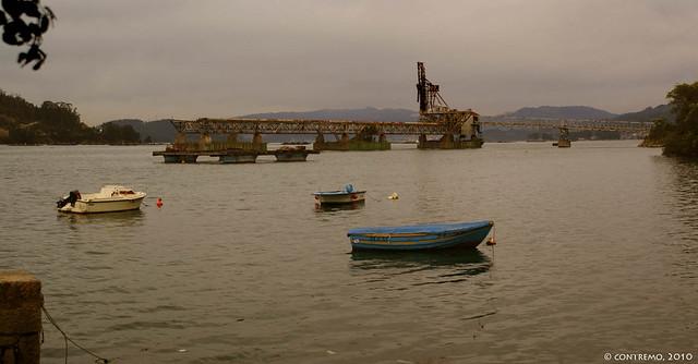 Embarcadero de Carbón de Rande (Redondela, Pontevedra)