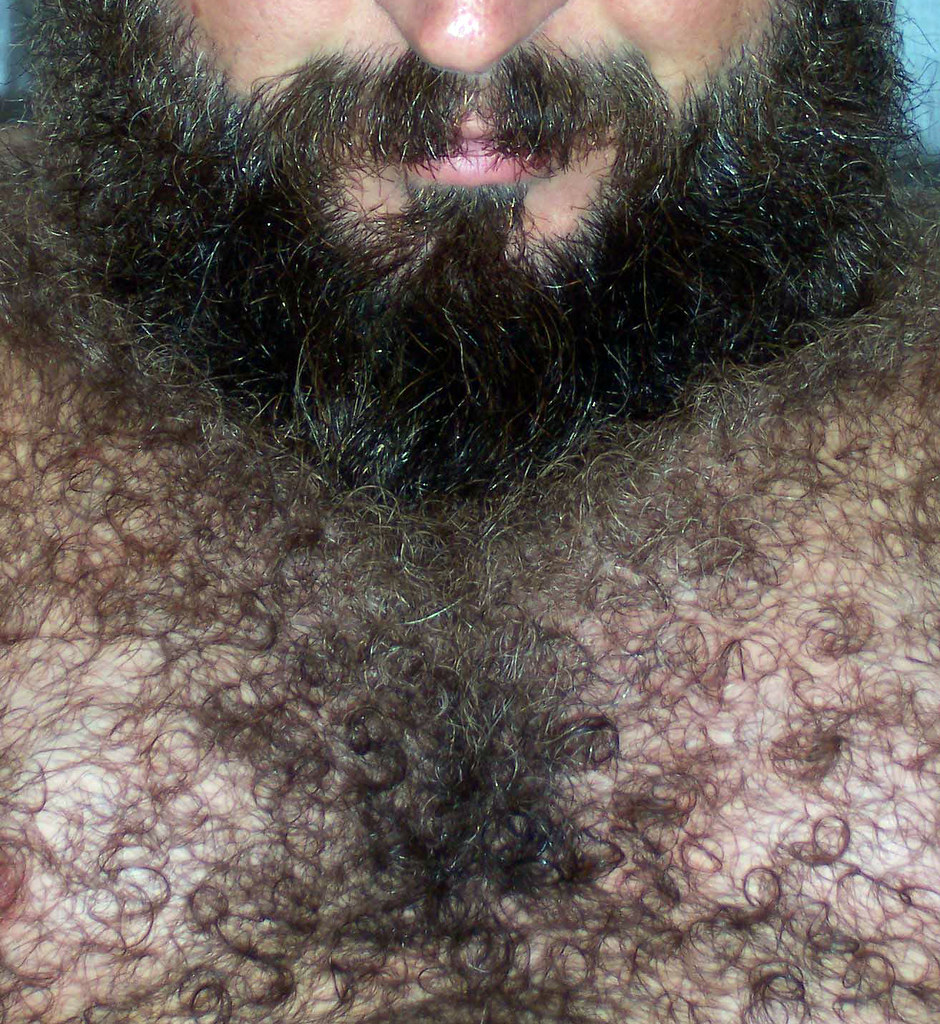 Think, that big and hairy men