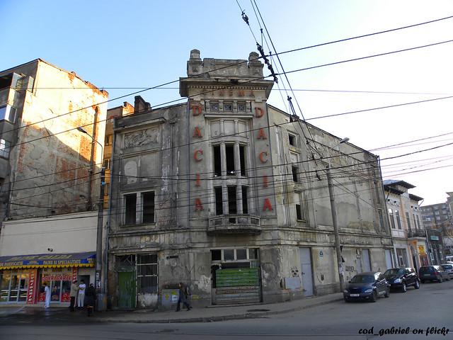 Cinema Dacia, str. Grivitei, Bucuresti / Dacia Movie Theatre ...