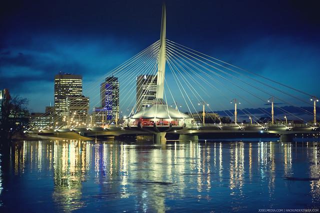Provencher Bridge Winnipeg Flickr Photo Sharing