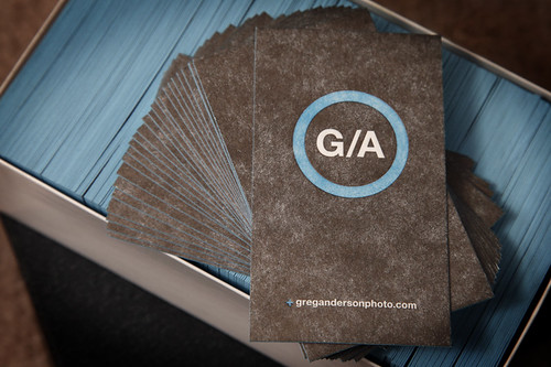 Greg Anderson Photo Business Card