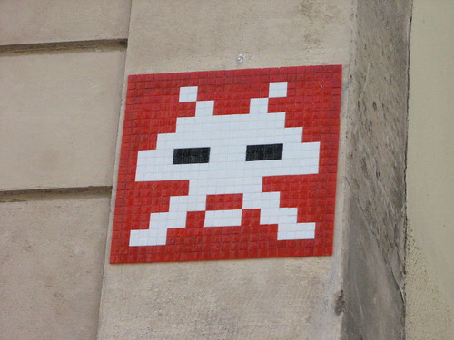 Space Invader PA_827 : Paris 20eme (deleted)