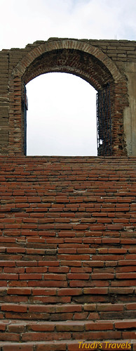 Brick stairs at the mission by Gypsy Mom
