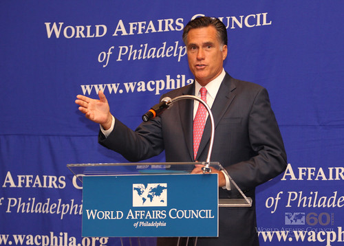 The World Affairs Council of Philadelphia presents Mitt Romney, April 6, 2010