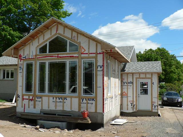 004 agrandissement d 39 une maison sans finition ext rieure - Agrandissement d une maison ...