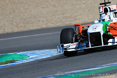 Formula One (F1) Testings at Jerez de la Frontera - 2010