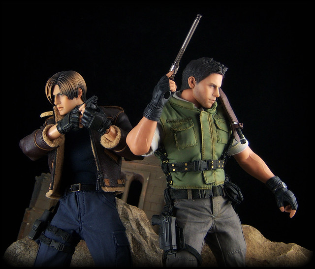 Hot toys - chris redfield 1/6 - YouTube