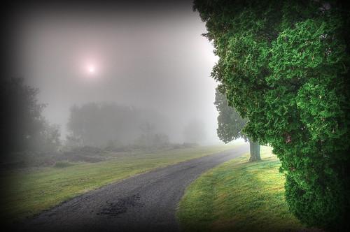 morning ohio mist fog sunrise landscape nikon raw nef hdr photomatixpro cs5 canalfultonohio d3s starkcountyohio nikkor2470f28