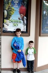 they just saw shrek 4