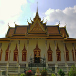 One of several of the beautiful buildings that make up the Royal Palace - Phnom Penh, Cambodia