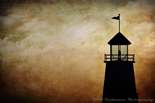 sunset lighthouse clouds gimp textures lakehefner beautyunoticed