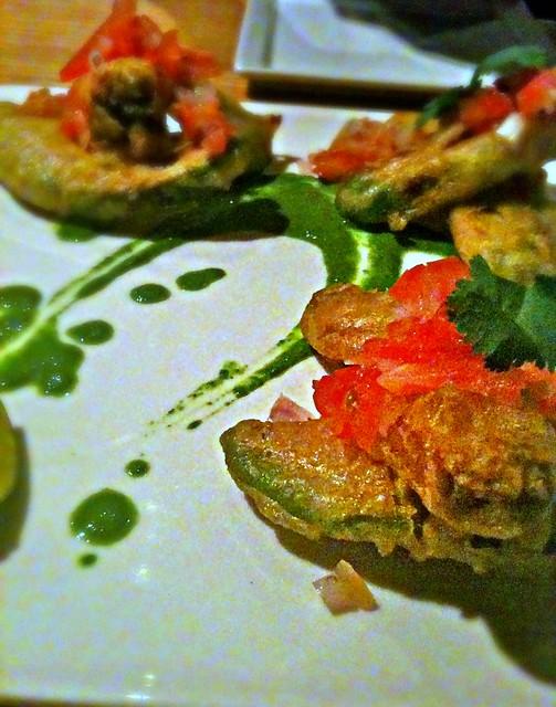 Fried Guacamole @DrawingRoomChi | Flickr - Photo Sharing!