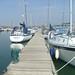 Kemps quay marina with Sabre by Aidan Esslemont
