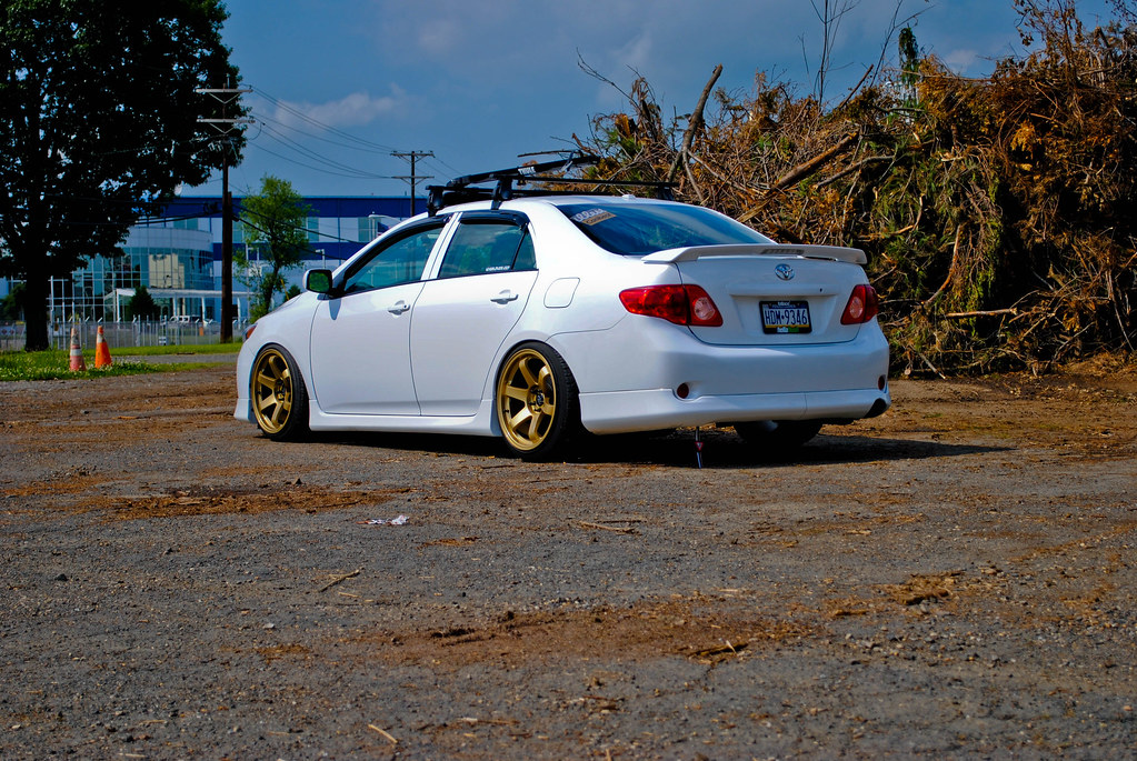 gold rims toyota nation forum toyota car and truck forums. Black Bedroom Furniture Sets. Home Design Ideas