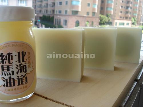 北海道馬油皂Horse oil soap