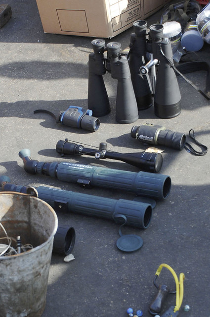 Weapons found aboard the Mavi Marmara