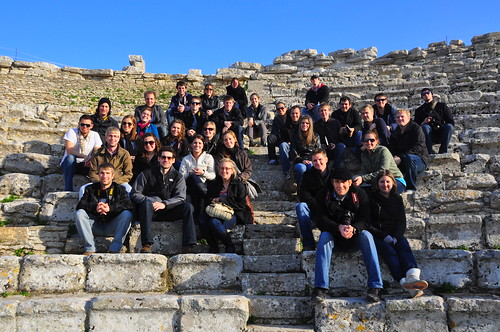 Sicily Field Trip - Segesta Greek Amphitheater