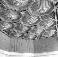 Federal Office Building lobby ceiling, Seattle