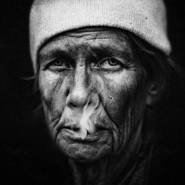 Liz - Stunning Collection of Smoking Portraits
