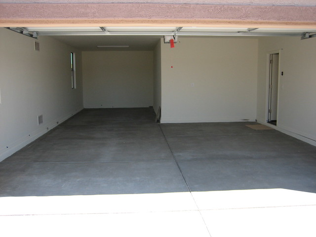 3 car tandem garage flickr photo sharing for Tandem garage