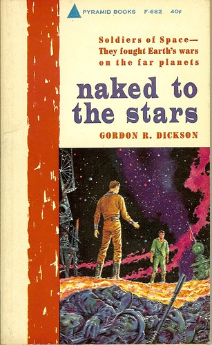 Naked To The Stars - Gordon R. Dickson - cover artist Emsh