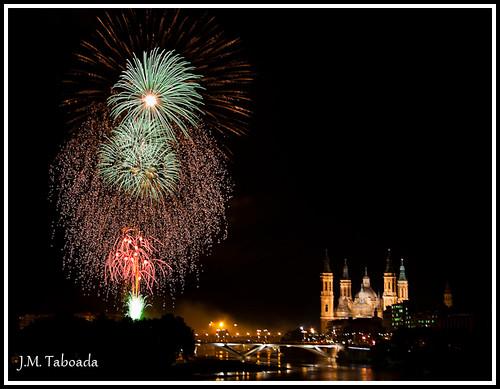Fuegos Artificiales Fiestas del Pilar 2009