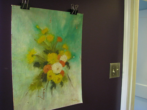 Hanging Art Without A Frame But Staying Away From Thumb