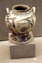 carving(0.0), wood(0.0), art(1.0), pottery(1.0), urn(1.0), vase(1.0), ceramic(1.0), porcelain(1.0),