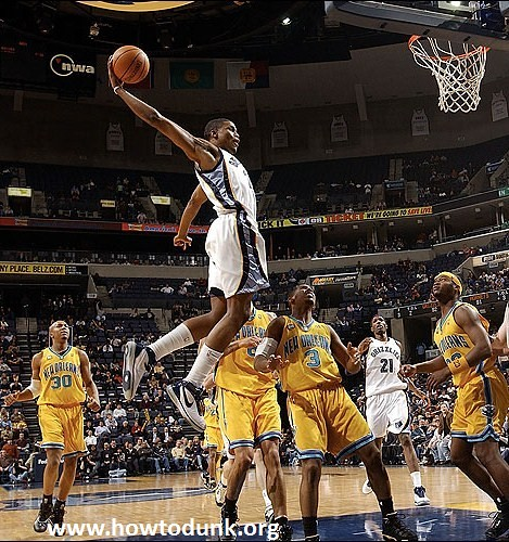 Rudy Gay Dunk Contest 3