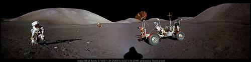 Apollo 17 AS17-134-20438 to 45