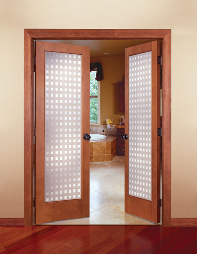 Feather river door wood interior doors multi cube in for Interior double doors