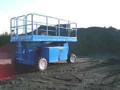 Scissor Lift - Upright SL26 Diesel Rough Terrain